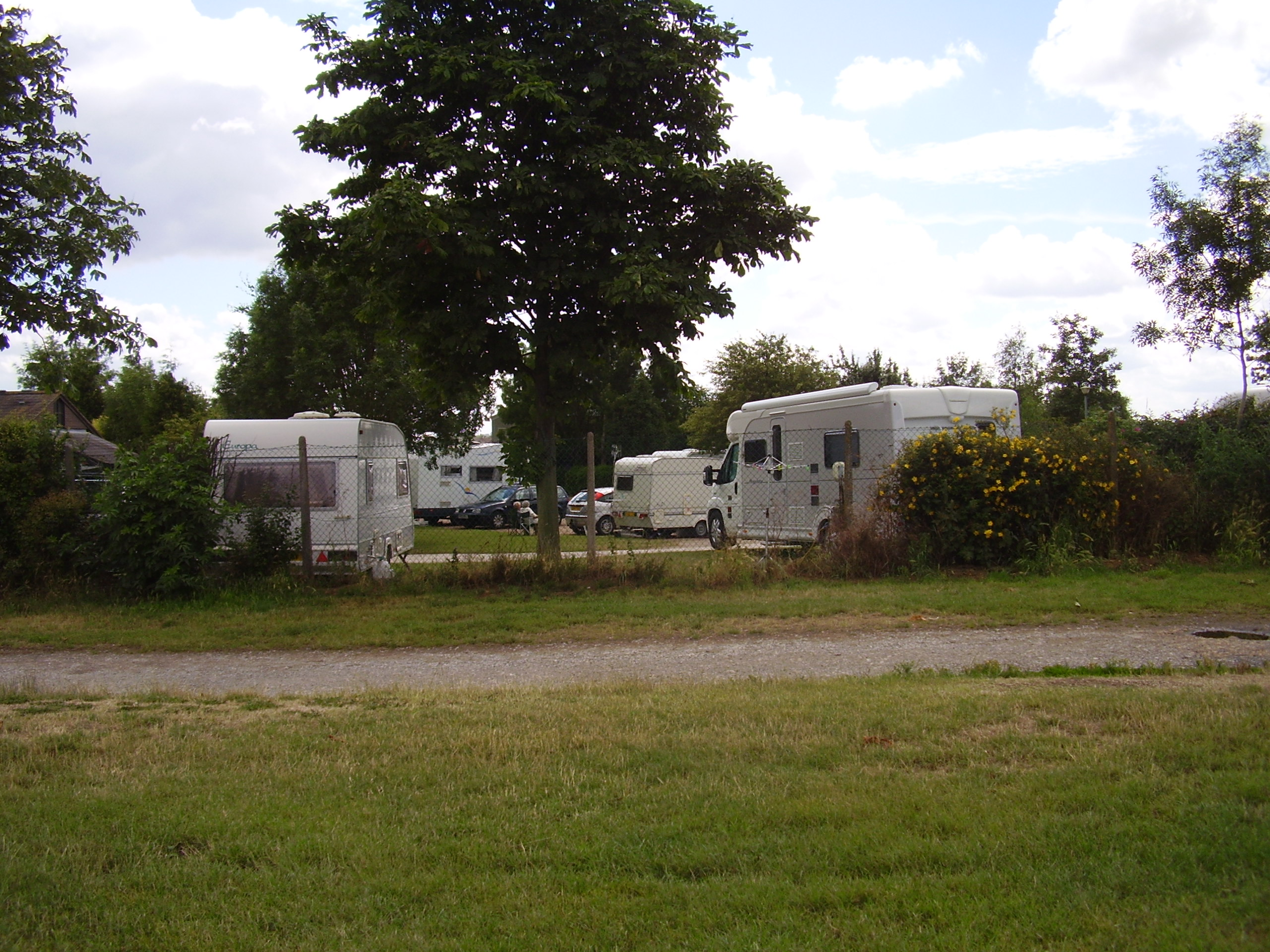 Warwick Racecourse dog walk and caravan site